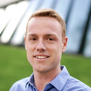 Picture: Dr James Thompson, Lecturer in Teaching and Learning, and Lead of Built Environments Learning and Teaching (BEL+T)